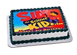 Sid the Science Kid Edible Cake Image Personalized Birthday Topper Icing Sugar Paper A4 Sheet 1/4
