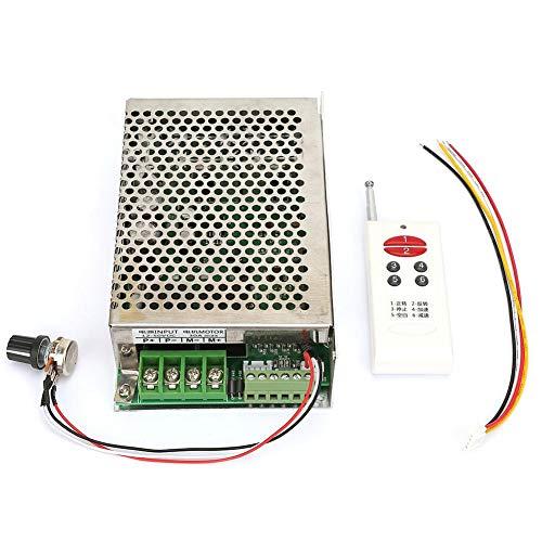 Meiyya Motor Speed Controller,Wireless Remote Control DC Motor Governor Speed Controller 12V/24V/30V 30A Forward and Reverse