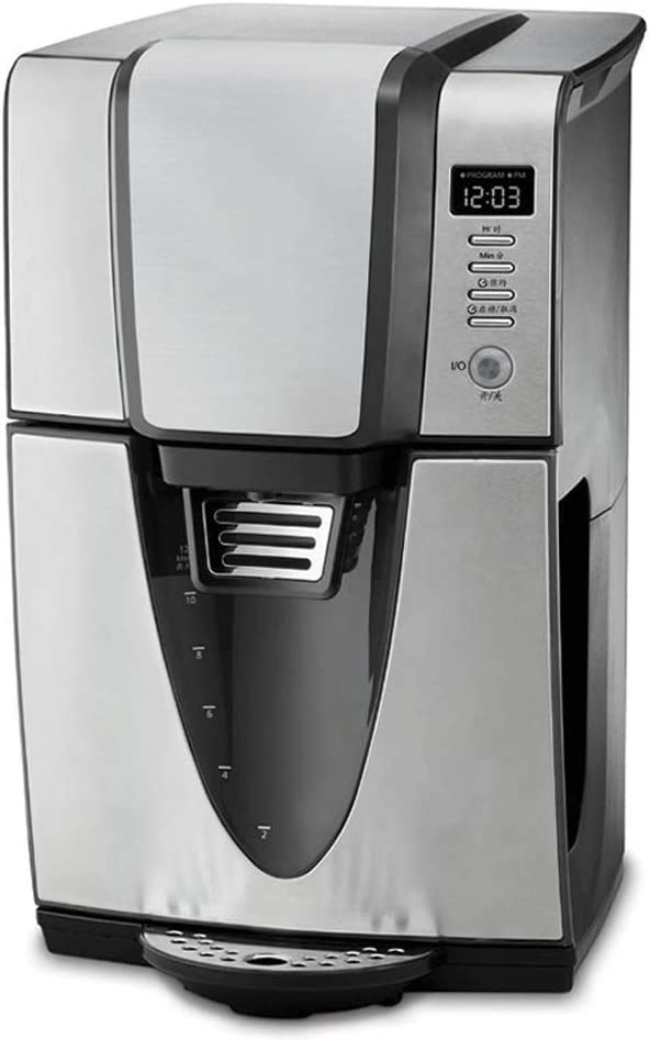 R-LKK Cafetera, Instantánea Fabricante de tierra caliente eléctrica Cafetera Kit-pre-programables Configuración de filtro, Cafetera Máquina de 1,5 litros programable Café Con temporizador y Auto Mante: Amazon.es: Hogar