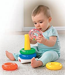 Fisher-Price Brilliant Basics Rock-a-Stack