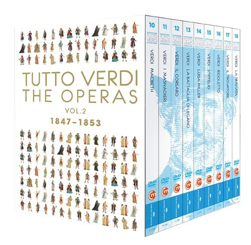 Tutto Verdi Operas, Vol. 2 (1847 - 1853) by C Major Entertainment