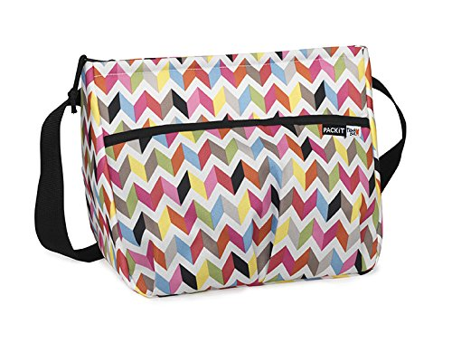 PackIt Freezable Carryall Lunch Bag, -