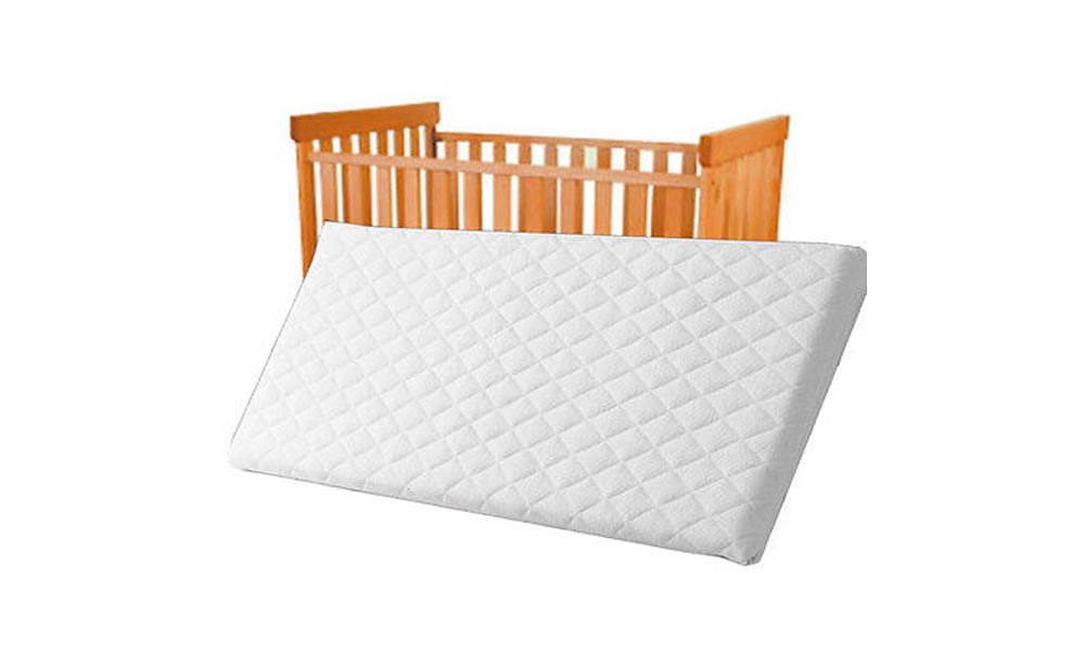 74X34X4 CM QUILTED AND BREATHABLE CRADLE /PRAM /SWING /COT /CRIB MATTRESS SQUARE CORNERS (74x34x4 cm) Rainbow Group