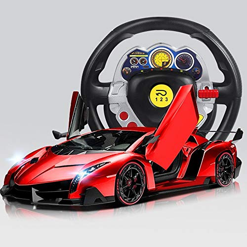 Luccky Home Remote Control Car Kids Toys Boys Electric Toy Car Working Light Dual Modes Mini Gravity Racing Stunt RC Cars Vehicles Toys Children Games Funny Gifts Cool Gadgets for - Nickel Gravity Fixture