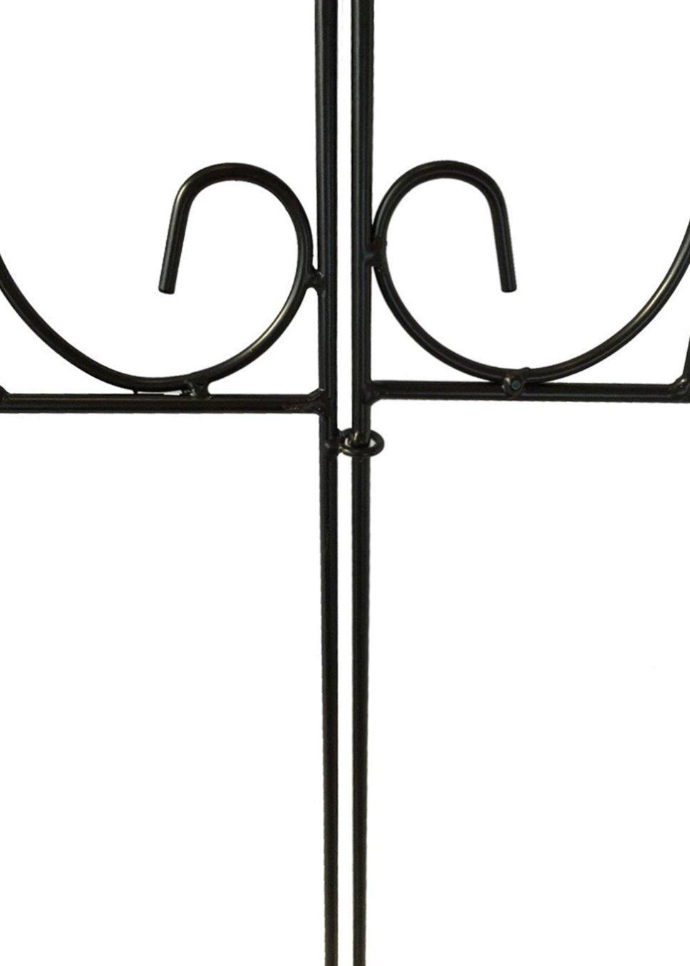 Amagabeli Decorative Garden Fence Coated Metal Outdoor Rustproof ...