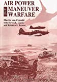 Book cover for Air Power and Maneuver Warfare