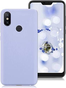 Funda Xiaomi Mi A2 Lite, Suave TPU Silicona Carcasa para Xiaomi Mi ...