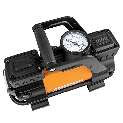 Freeman P45LMTI High Power Portable 12V Tire Inflator with Gauge by Freeman (Image #3)
