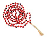 Product review for Shraddha Shree Gems Original & Pure Red Chirmi mala for wealth and prosperity (Fast Shipping)