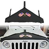 Front Hood Cover hood bra protector Cover for 2007-2018 Jeep Wrangler JK JKU
