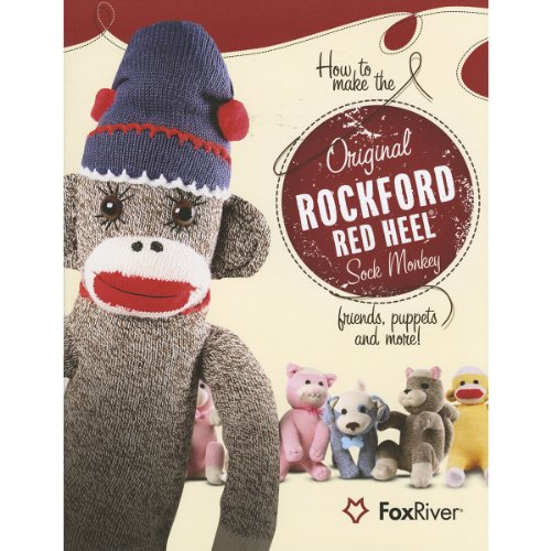 Monkey Pattern (How to Make the Original Rockford Red Heel Sock Monkey, Friends, Puppets and More!)