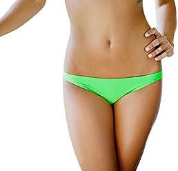 7a184cadd5 Jelly Swimwear Women s Bikini Bottom Lime