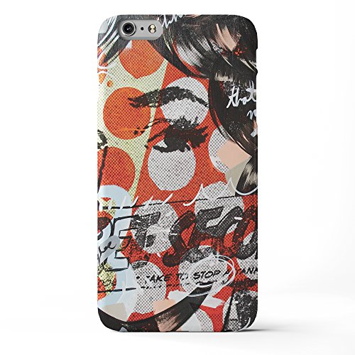 Koveru Back Cover Case for Apple iPhone 6 Plus - Girl in mood