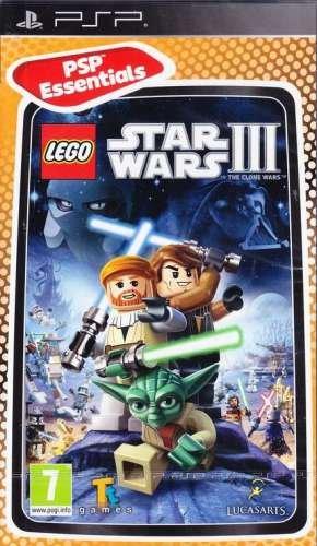 LEGO Star Wars 3: The Clone Wars (Sony PSP) (UK Import) (Lego Wars Psp Star)