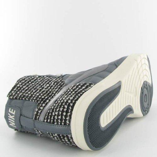 Nike Kvinnor Flyknit Racer Vit / Leggion Blå 526628-102 (storlek: 6,5)