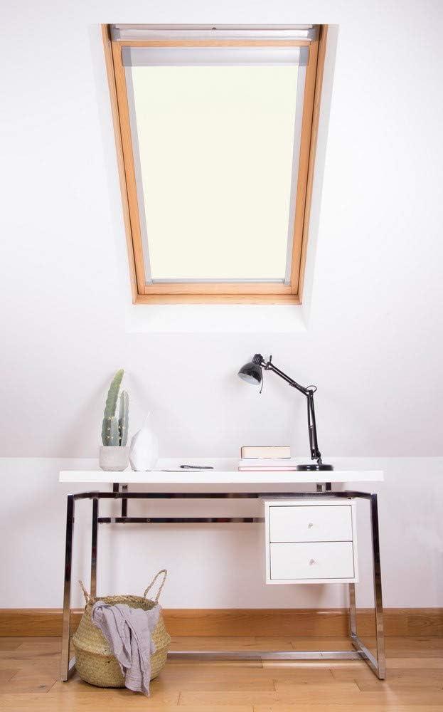 Bianco Colore Bloc Skylight C2A Dakstra Tenda Oscurante per finestre