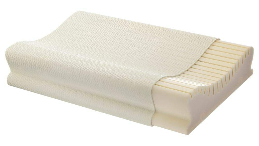 Centa Star Nackenst/ützkissen Neckprotect Softness I Gr/ö/ße 40x60 cm I Farbe Weiss I Reines Polyurethan