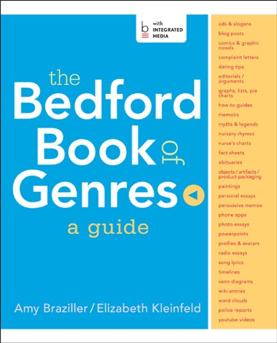 Bedford Book Of Genres W/Access