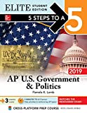 img - for 5 Steps to a 5: AP U.S. Government & Politics 2019 Elite Student Edition book / textbook / text book