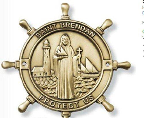- Saint Brendan the Navigator Boat Plaque. Patron Saint of Sailors/ Mariners