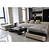 Beautylife88 Sofa Cover Soft Couch Slipcover Chair Seat Protector Grey 70x150CM