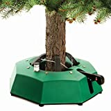 "InstaTree XXL Fast & Easy Christmas Tree Stand – Holds tree up to 14.5 Feet Tall with 1.5"" to 6.5"" Diameter Trunk – Easy Foot Lever Operation Grip"