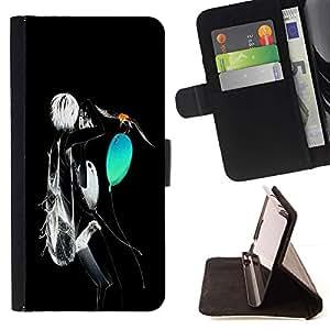 - Neon Abstract/ Personalizada del estilo del dise???¡¯???¡Ào de la PU Caso de encargo del cuero del tir???¡¯????n del s - Cao - For Samsung ALPHA G850