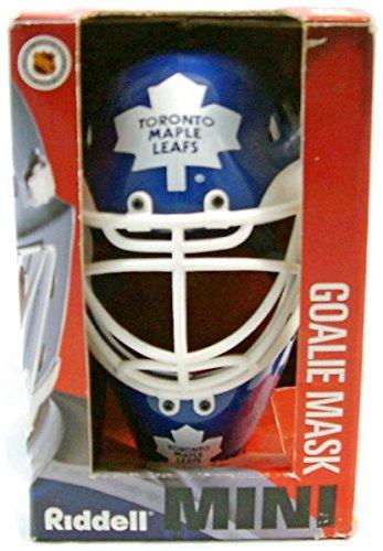 Riddell Mini Goalie Mask/Helmet - Toronto Maple Leafs -