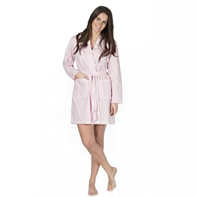 Womens Ladies Summer Long Dressing Gown Robe Flower Cotton Blends