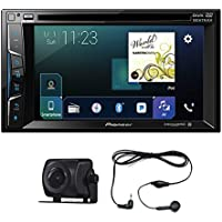 Pioneer AVH-1300NEX 6.2 2 DIN DVD Bluetooth Apple Car play+ Free Camera Pioneer ND-BC8 (w/o box) and Audiocon 2.5MM Earphone