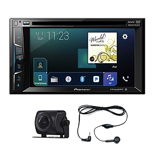 "Pioneer AVH-1300NEX 6.2"" 2 DIN DVD Bluetooth Apple Car play+ Free Camera Pioneer ND-BC8 (w/o box) and Audiocon 2.5MM Earphone"