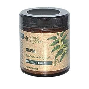Naked Organix-Neem Body Butter Organix South 4 oz Cream