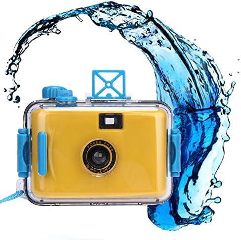 ClodeEU_Accessoires de téléphonie mobile ClodeEU❤❤Caméra sous-Marine étanche Mini 35mm Film Violet (Jaune)