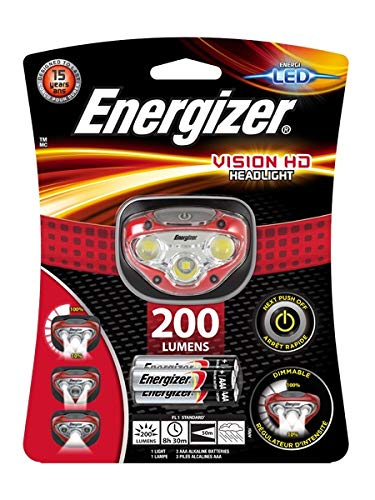 Energizer Vision HD LED Headlamp Batteries Included by Energizer