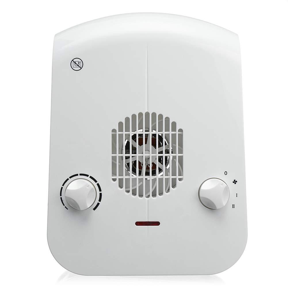 Acquisto YSCCSY Riscaldatore a Ventola Multifunzione da 2000 W con manopola a manopola di Controllo / 10 velocità di Marcia per la casa Bagno Caldo riscaldatore per Camera da Letto Prezzi offerte