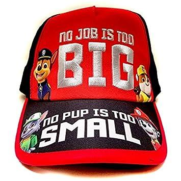 8f90d3f952e Baseball Cap - Paw Patrol - Red Black Youth Kids Size Hat 156712 ...