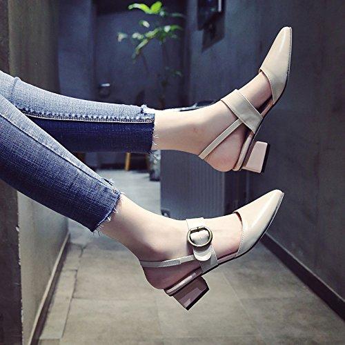 YMFIE Señoras Moda veraniega señaló Zapatos Zapatos de Boda Boda Zapatos. a