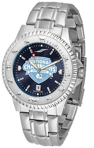 North Carolina 2017 NCAA Division I Men s Basketball Champions Competitor Steel AnoChrome Watch (Steel Watch Anochrome)