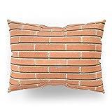 Society6 Bricks Wall Pillow Sham Standard (20'' x 26'') Set of 2