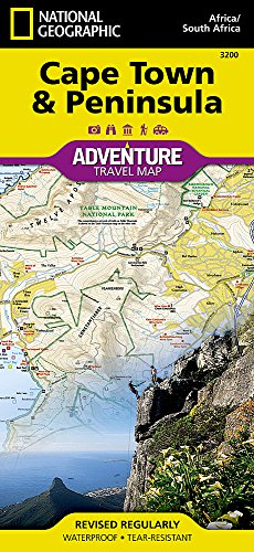 (Cape Town and Peninsula [South Africa] (National Geographic Adventure Map))
