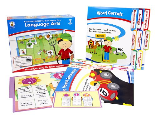 Carson Dellosa Language Arts File Folder Game (140311)]()