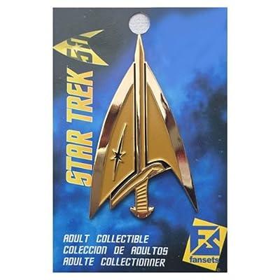 Fansets Star Trek Mirror Delta Insignia Pin: Toys & Games