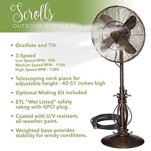 Buy indoor misting fan