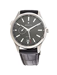 Zenith Captain Dual Time automatic-self-wind mens Watch 03.2130.682/22.C493 (Certified Pre-owned)