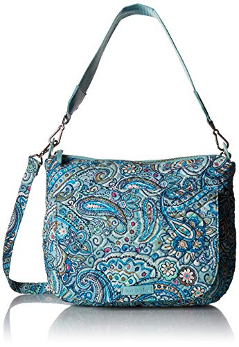 (Vera Bradley Carson Shoulder Bag, Signature Cotton, Daisy Dot Paisley, Paisl)