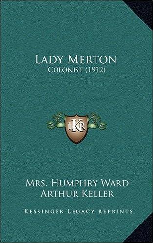 Book Lady Merton: Colonist (1912)