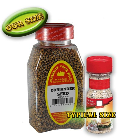 Marshall's Creek Spices Coriander Seed Whole Seasoning, New Size, 5 Ounce
