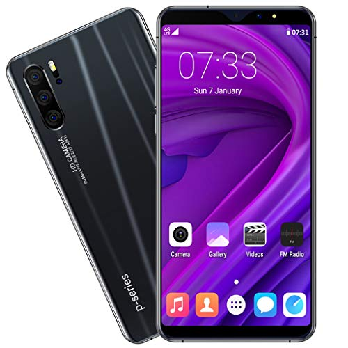 Sodoop P31 Pro Smartphone (2019 New), 6.3 inch Full Screen Unlocked for Android GSM 3G Dual-SIM 1G RAM+16GB ROM Extended Memory to 64G,Eight Core 1600w Camera (Black)