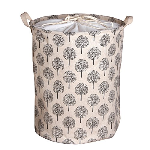 Clothes and toys organizer Waterproof hamper Foldable laundry basket for storage