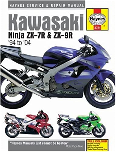 Kawasaki ZX-7R and ZX-9R Service and Repair Manual: 1994 to ...